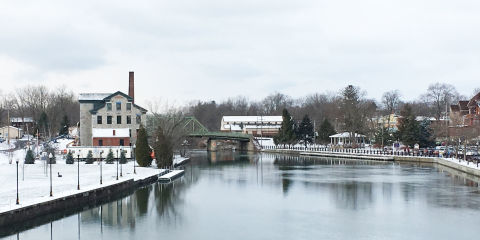 The Real Bedford Falls The Town That Inspired Its A