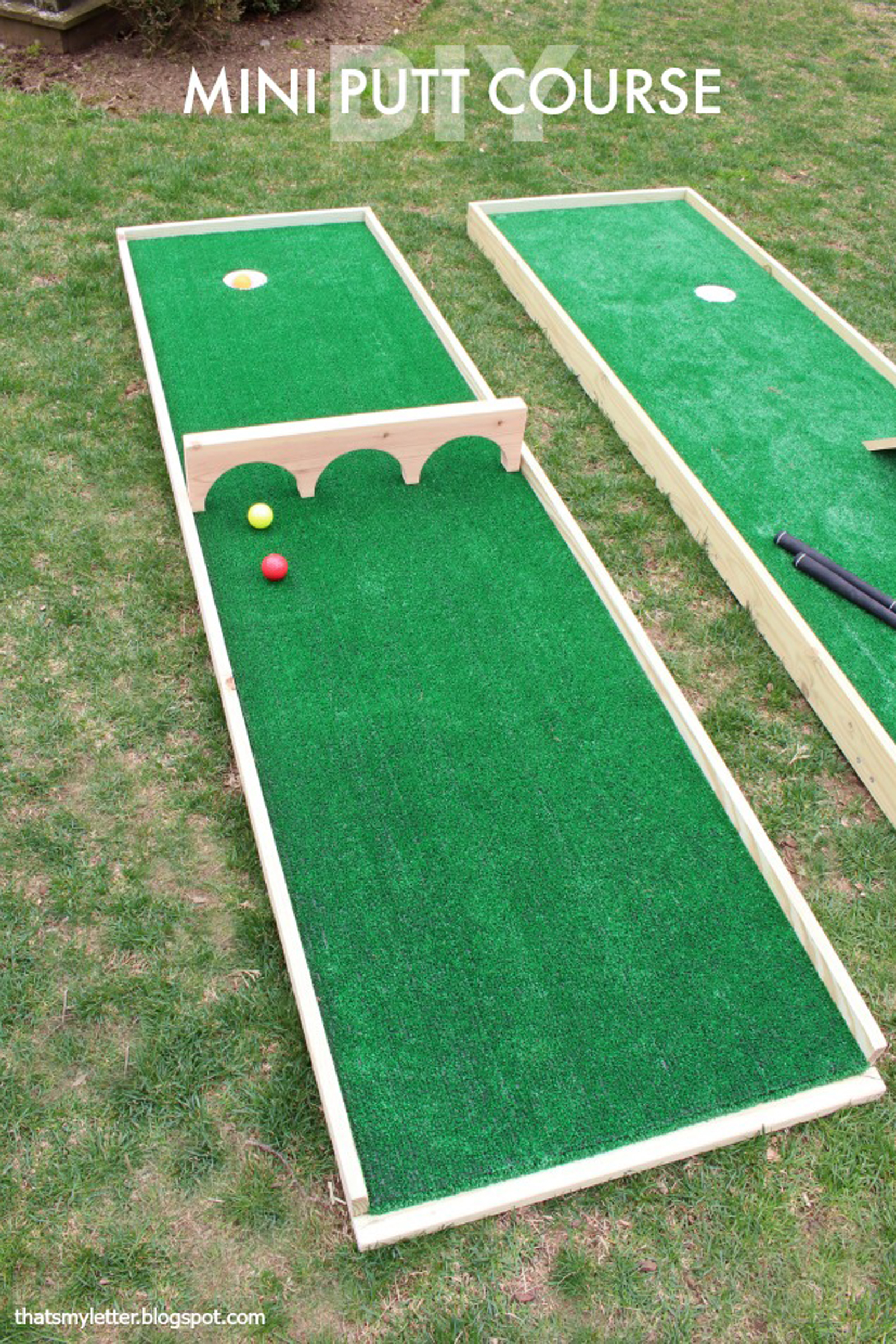 Outdoor Backyard Games