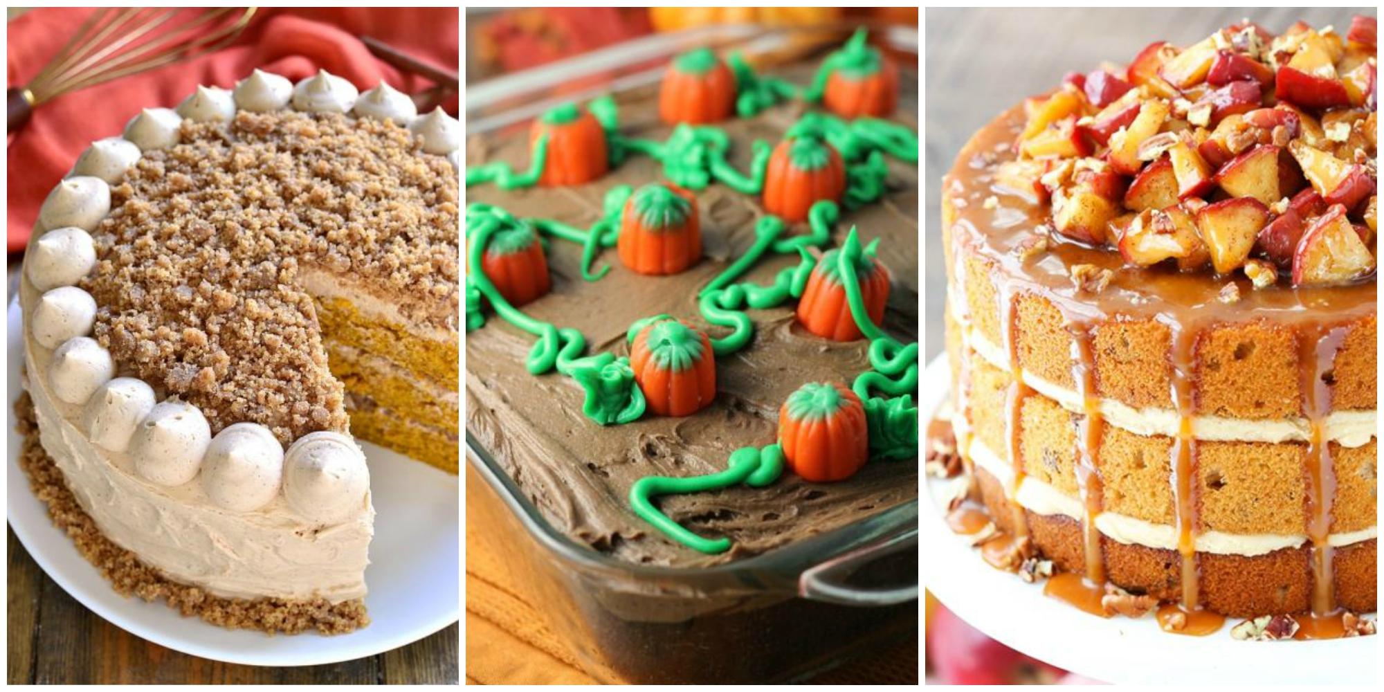 14 Thanksgiving Cake Ideas