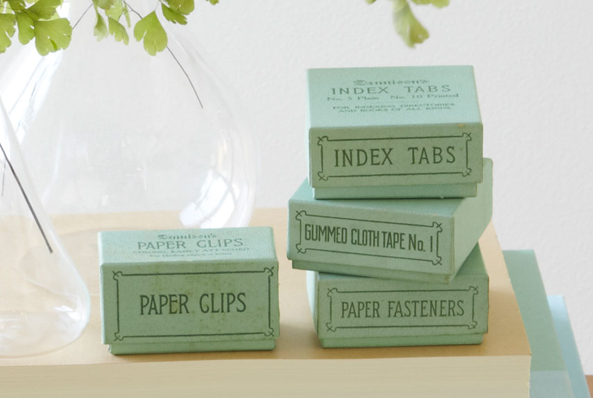 Image result for vintage office supplies