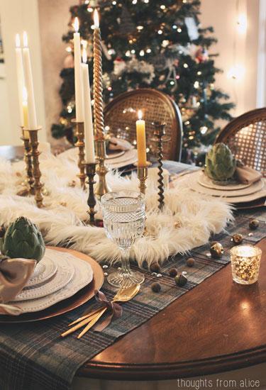 Christmas Plaid Antlers
