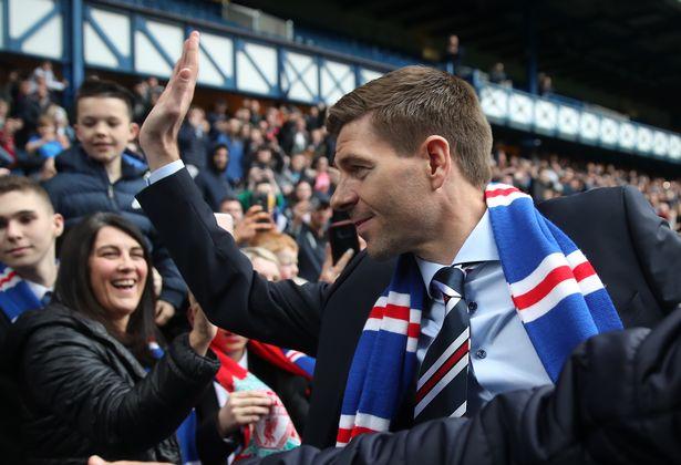 Give Gerrard Time says Jamie Banks.
