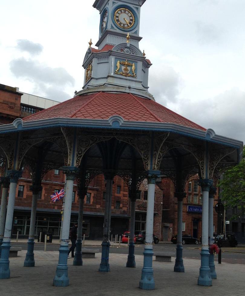Billy Boys meeting point at Bridgeton Cross