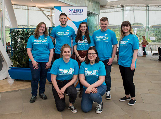 Diabetes Scotland plans to grow its Young Leaders Project in the new year with multiple funded campaigns that will raise awareness of Type 1 diabetes across Scotland