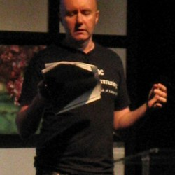 Irvine Welsh book signing at Braehead Waterstones