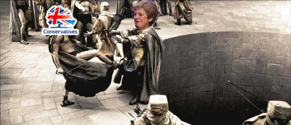 Could Theresa May be getting the boot?