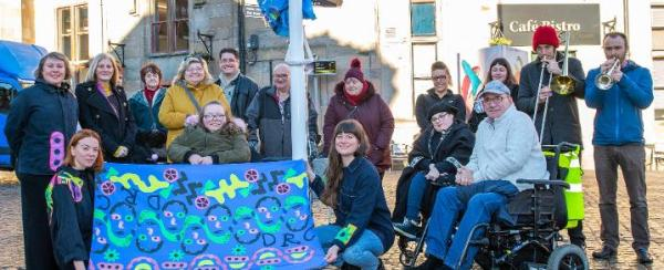 Renfrewshire are flying the flag for disabilities