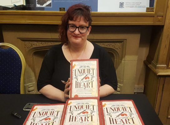 'A lot of tea and panicking' is behind Kaite Welsh's new book