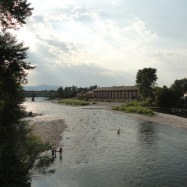 The Clark Fork River made Missoula a pretty awesome river city! People were swimming and floating in the clear (but cold) water all day.