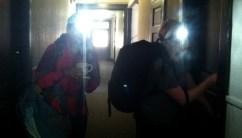 backpacks: check. keys: check. headlamps: check.