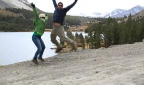 jumping photo at Yosemite!