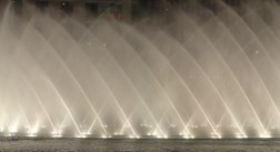 the famous Bellagio fountains