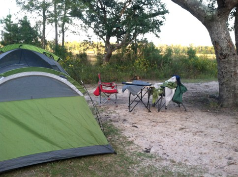 our last night of tent camping :(