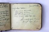 Autograph written by Hazel (MacLean) Beer for Hilda