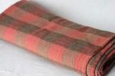 Blanket woven by Mary Ann (MacDougall) Darrach in 1904 - (Donated by Jon Darrach)