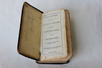 Hymn book 1843 (Donated by Beer Family)