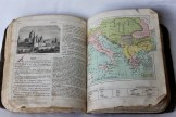 Inside Geography School Book 1880s (Donated by Beer Family)