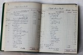 Inside Clyde River Hall Record book 1947 (Donated by Beer Family)