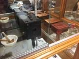 Brownie Camera and tins