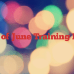 4th of June Training Day