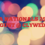 CVRDA NATIONALS 25-28TH AUGUST @ CLYWEDOG