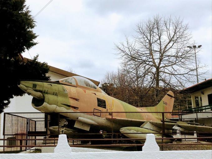 Avião Força Aérea - Carvalhal Formoso
