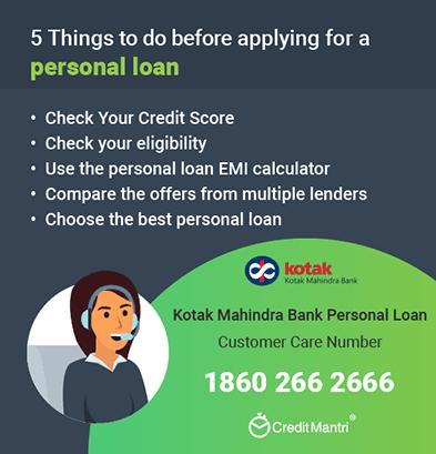 Kotak Bank Personal Apply Mahindra Loan