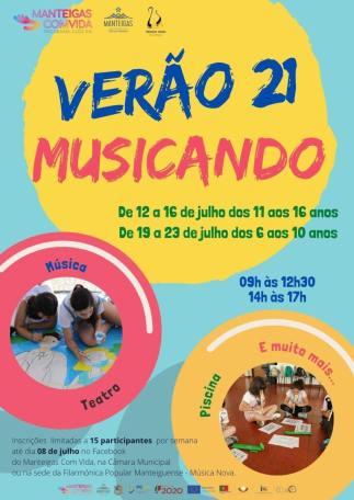 Verão 21 – Musicando