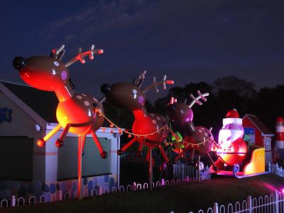 Santa at Peppa Pig World