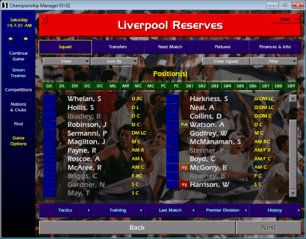 Liverpool reserves
