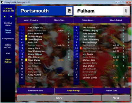 Portsmouth v Fulham FLC