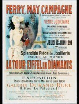 Tour Eiffel en Diamants