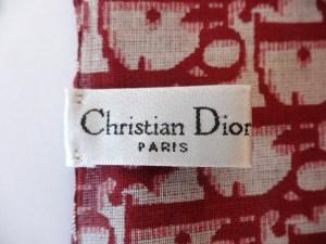 Carré monogrammé Christian Dior Prune 2