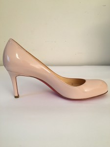 Escarpin Pump Louboutin rose vernis
