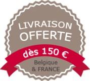 Livraison offerte sur CmaChambre.fr dès 150 € d'achat