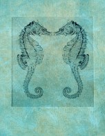 Seahorse Twins_monotype