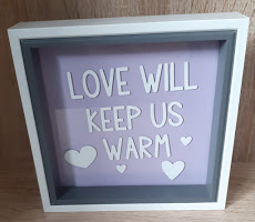 love will keep us warm