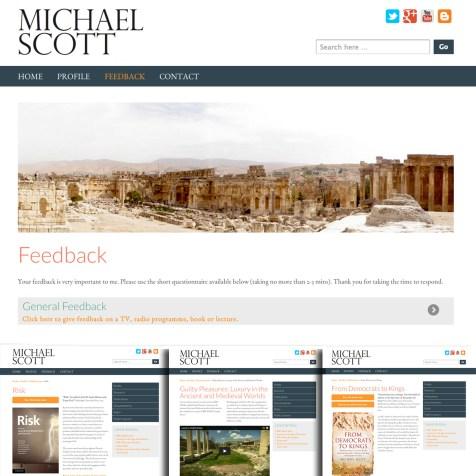 Cross Platform Web Design and Development, Michael Scott
