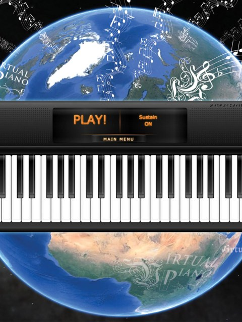 Online Piano App, Virtual Piano, CMAGICS
