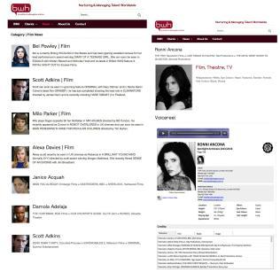 Cross-platform web design with Inbuilt Content Management System, BWH Agency