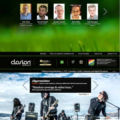 Client Showcase Of Work, Digital PR Agency, CMAGICS