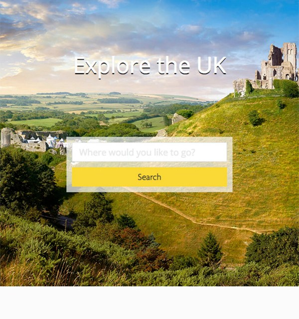 Mobile Travel Website, Rated Trips Website, The AA, CMAGICS