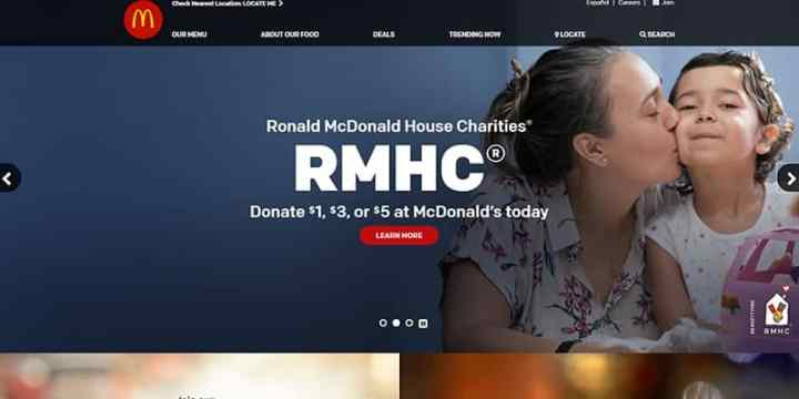 McDonald's Homepage Ronald McDonald House