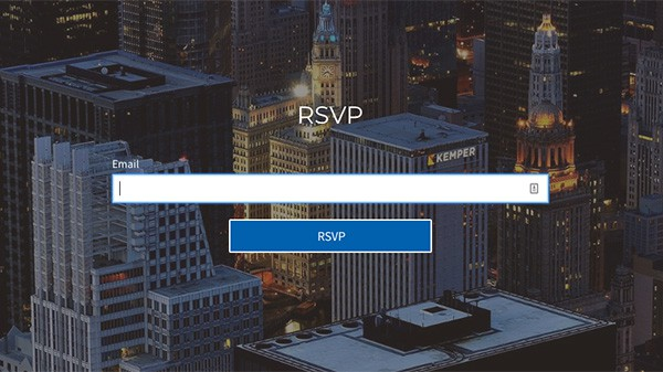 church website contact forms event rsvp reservation