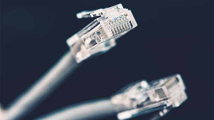 use wired internet when streaming live church services