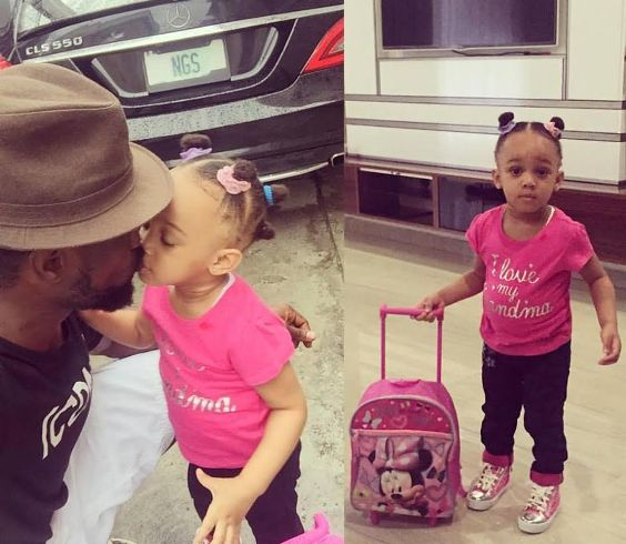 Father Goals? Paul Okoye Recorded On Tape Doing This To His Only Daughter (Video)