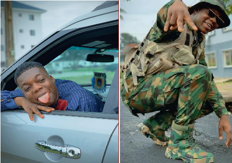 """""""I Am Still In The Service""""- Cute Abiola Reveals After Facing Court Marshal"""