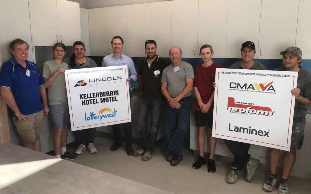 CMAWA Members' Kellerberrin Men's Shed Community Project