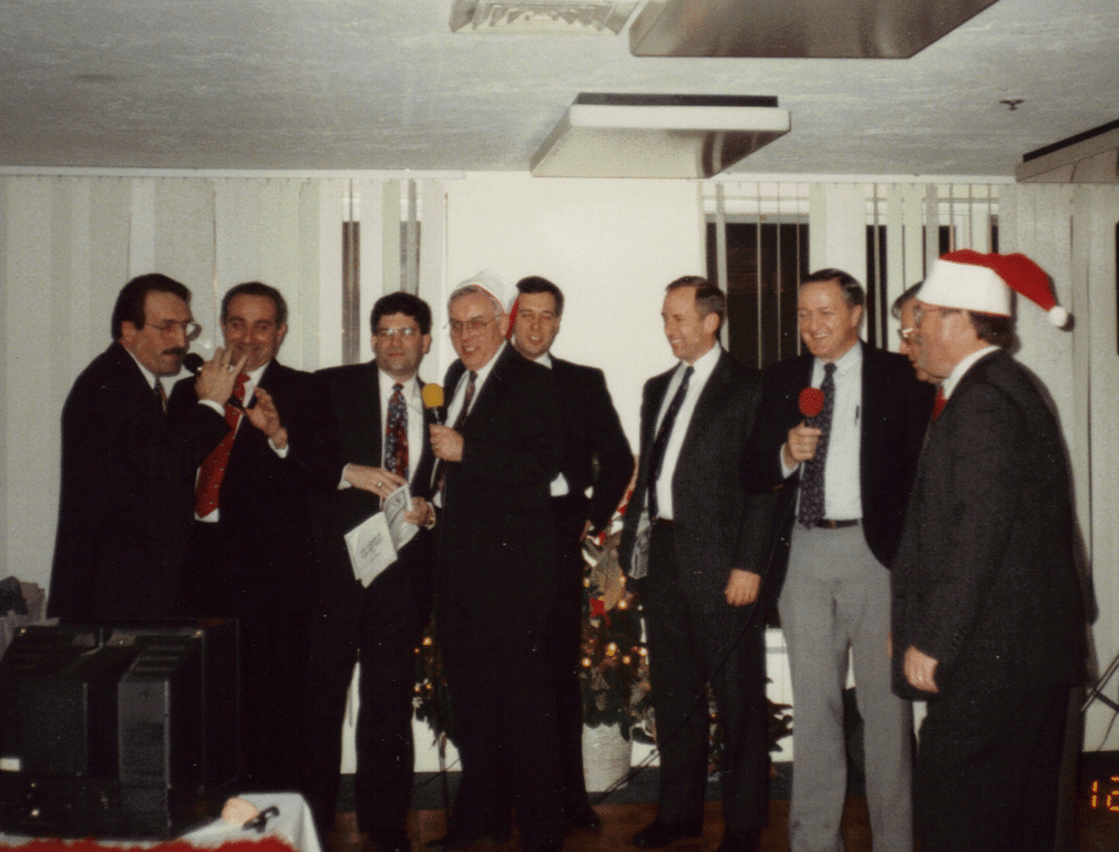 McQuales Restaurant Shrewsbury 1993 Chief's Parker and Ryder, Agent Morreale, Chief's Galena, Handfield, Schmohl, Hutchins, Cudak and Healy