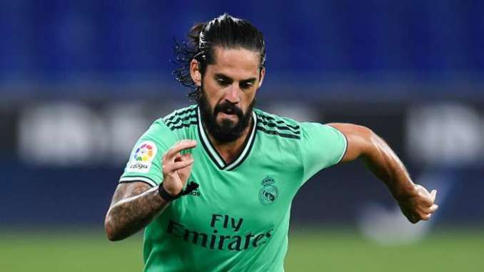 Isco Real Madrid 2020